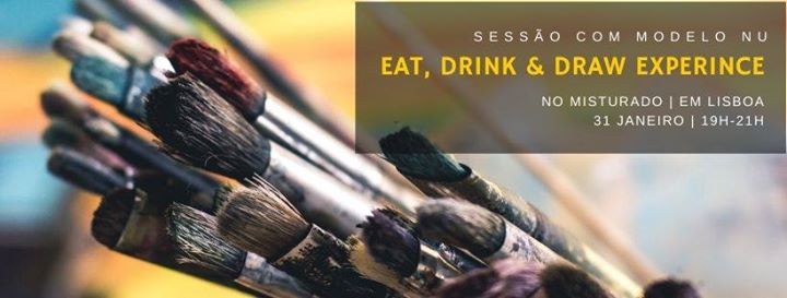 Eat, Drink & Draw experience | Modelo nu