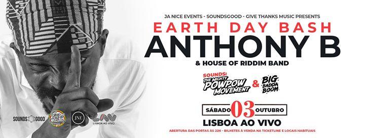 Anthony B - Earth Day Bash 2020 - Lisboa