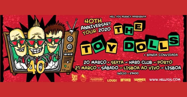 Toy Dolls 40th anniversary tour