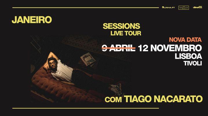 Nova data | Janeiro Sessions Live Tour c/ Tiago Nacarato