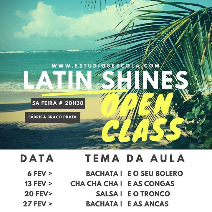 Latin Shines Open Classes na F. Braço de Prata por Raquel Santos