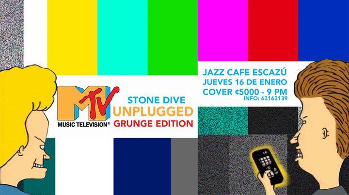 Tributo a los MTV Unplugged Grunge - Jazz Café Escazú