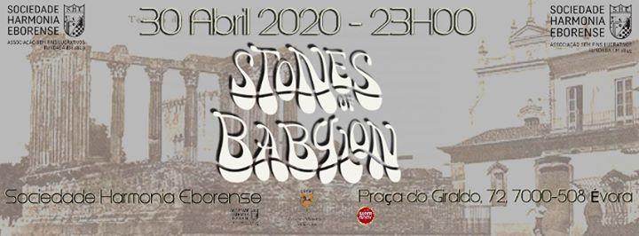Stones Of Babylon na Sociedade Harmonia Eborense 30-04-2020