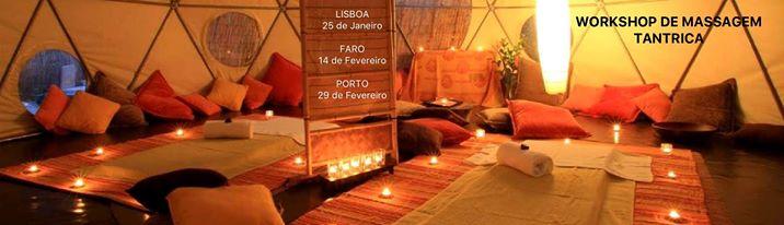 Workshop Terapia Tântrica - Tantra Massage NIVEL I