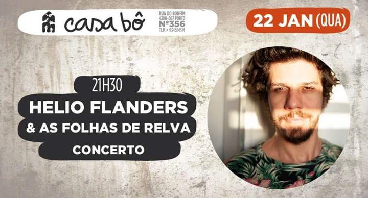 Concerto: Helio Flanders & As Folhas de Relva