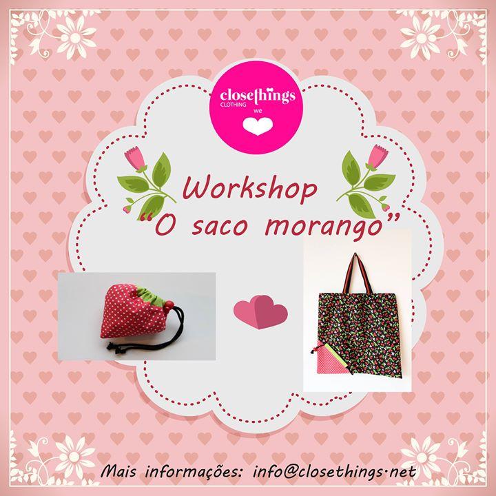 Workshop 'Saco morango'