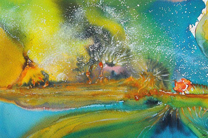 Fernando Lobo - Exposição de aguarelas e desenhos