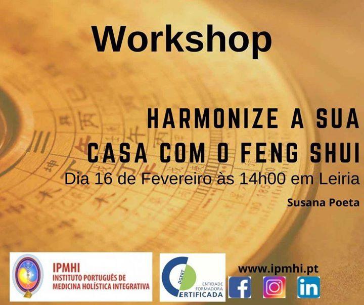 Workshop 'Harmonize a sua casa com o Feng Shui '