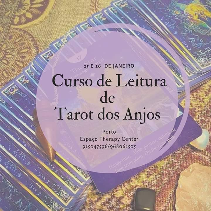 Curso De Leitura de Tarot Dos Anjos