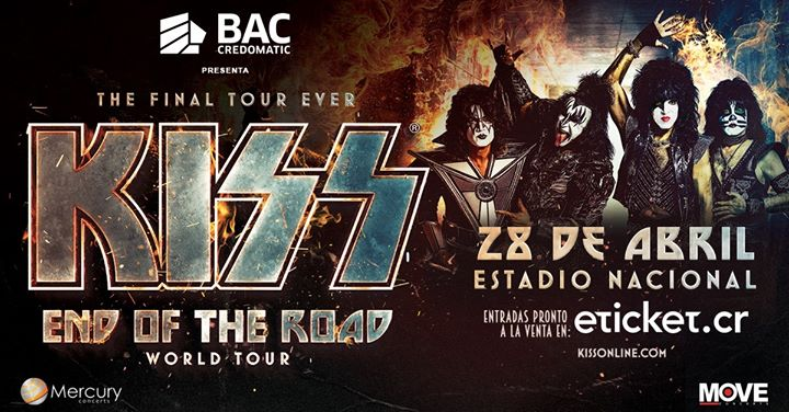 KISS en Costa Rica: Evento oficial