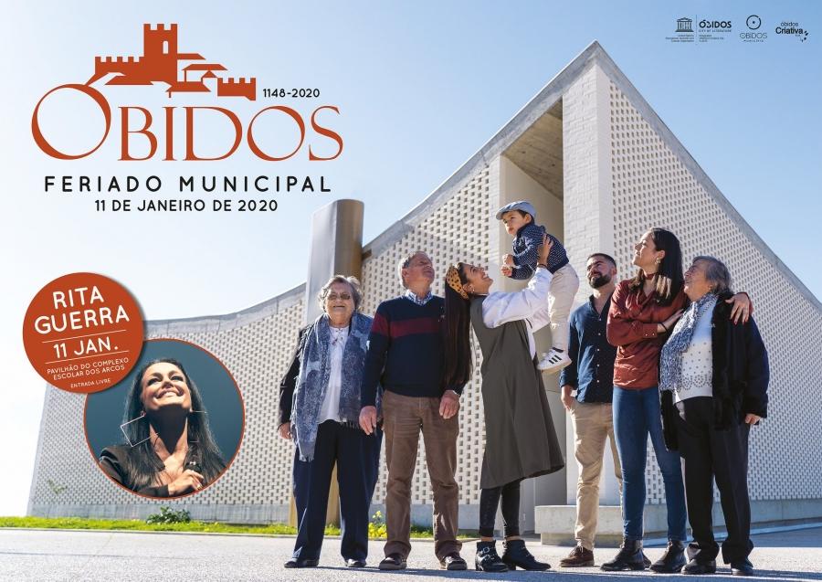 Comemorações do Feriado Municipal  | Concerto Rita Guerra