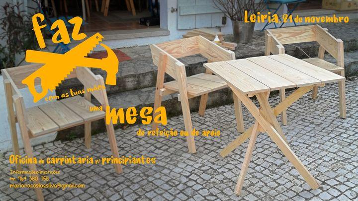 Workshop FAZ uma mesa
