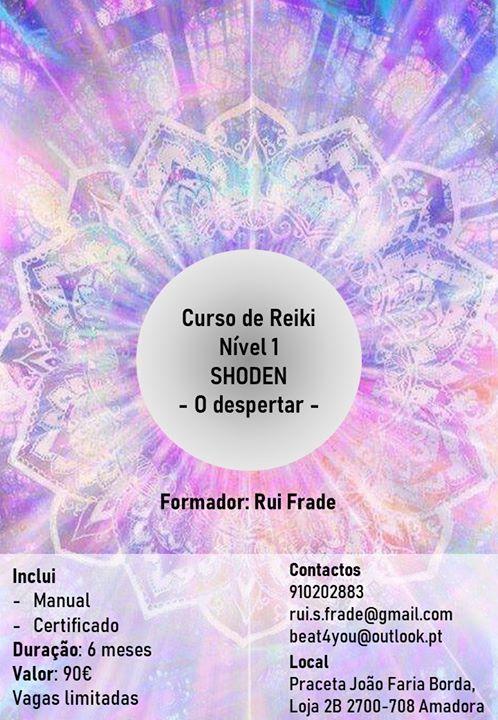 Curso de Reiki - Nível 1