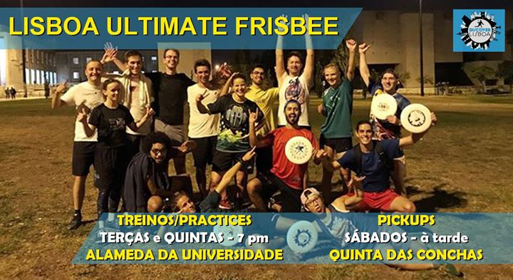 Lisbon Ultimate Frisbee Training - 37 (2019/20)