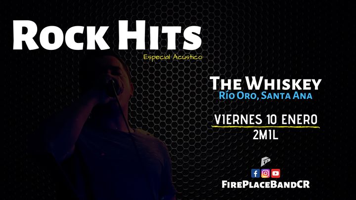 Fire Place en The Whiskey Bar | Rock Covers (Acústico)