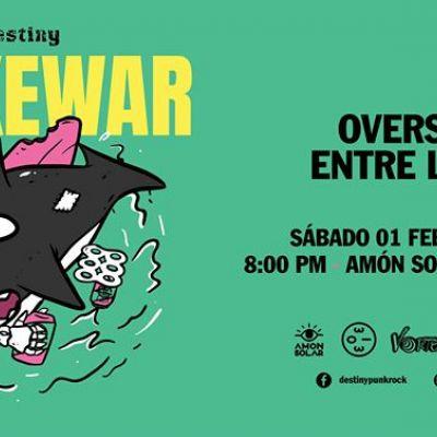 MakeWar (Fat Wreck Chords) en Costa Rica