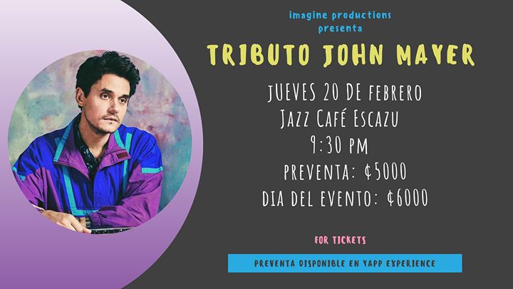 Tributo John Mayer: New Light