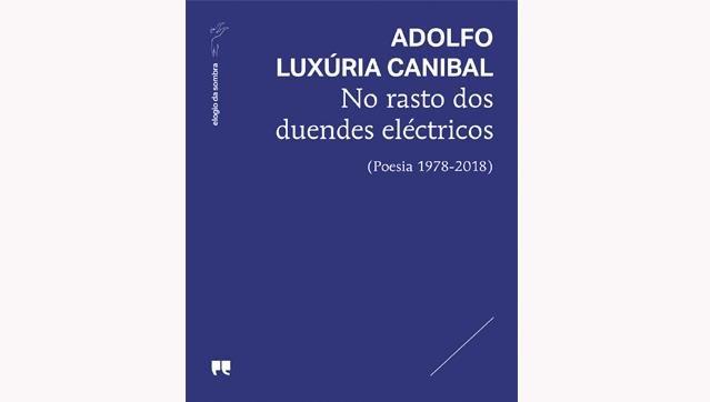 """Apresentação do livro """"No rasto dos duendes eléctricos (Poesia 1978 – 2018)"""" de Adolfo Luxúria Canibal"""