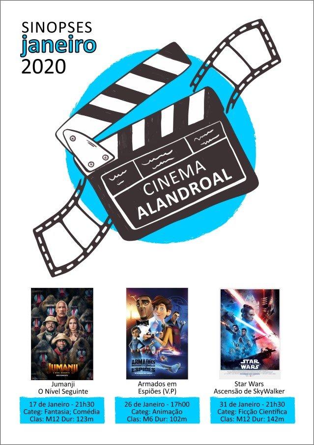 Cinema Alandroal - janeiro