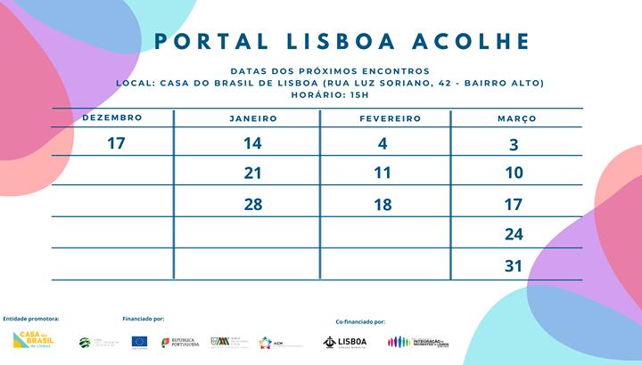 Terceiro Encontro Aberto - Construção do Portal Lisboa Acolhe