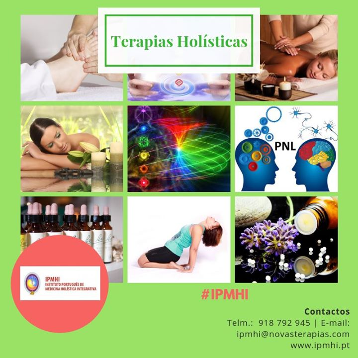 Formação em Terapias Holísticas - Porto