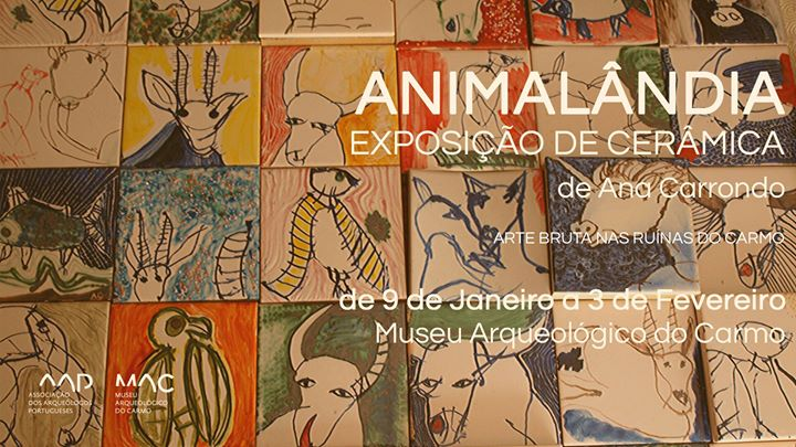 Animalândia: Exposição de Cerâmica (Arte Bruta)