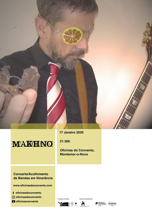 Makhno na Oficinas do Convento