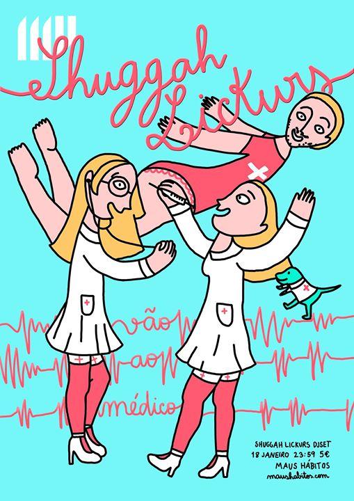 Shuggah Lickurs vão ao Médico