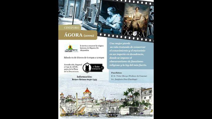 Cineforo: Ágora (evento gratuito)
