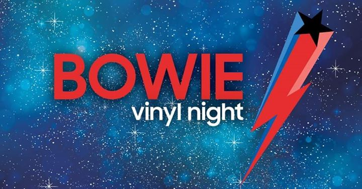 BOWIE vinyl night