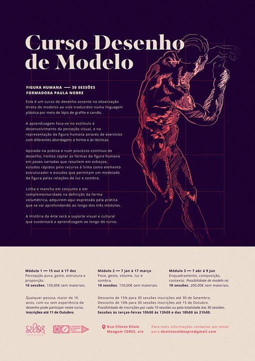 Apresentação do curso de desenho de Modelo. II Módulo