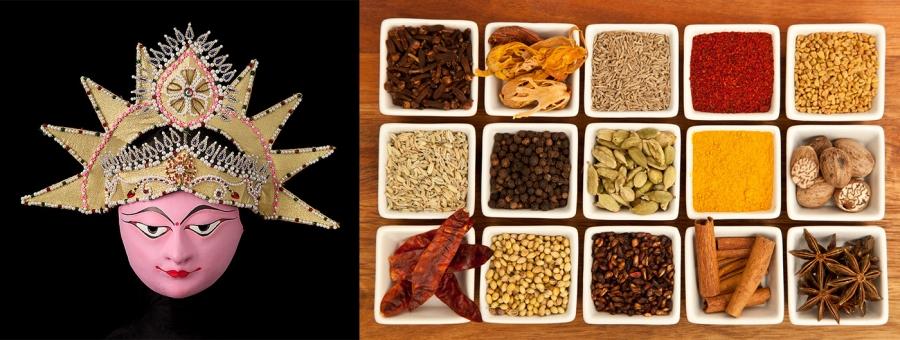 Workshop de Especiarias da Índia