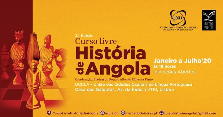 3.ª edição do Curso Livre História de Angola