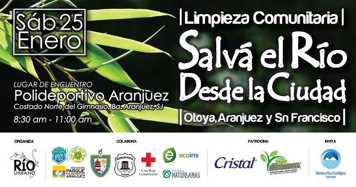 Limpieza Comunitaria 'Salvá el Río Desde La Ciudad' / Enero