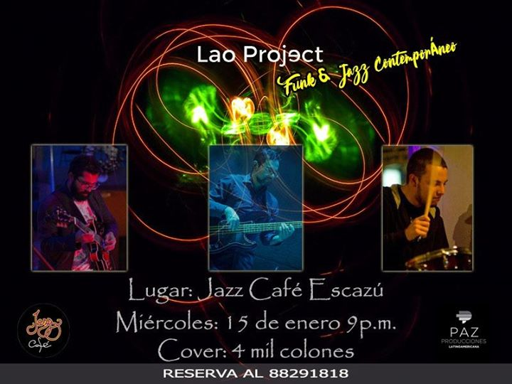 Funk & Jazz con Lao Project