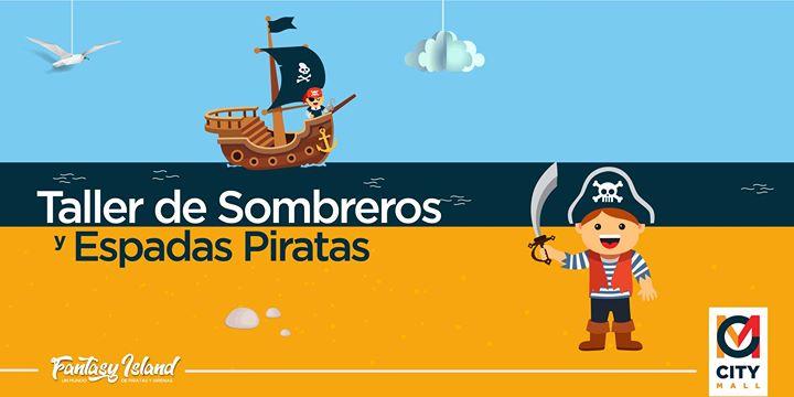 Taller de Sombreros y Espadas Piratas