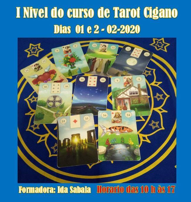 Curso Tarot/Baralho Cigano