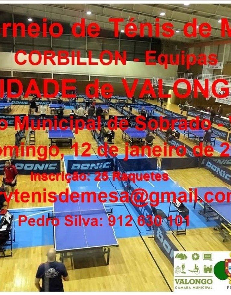 Torneio Corbillon 'Cidade de Valongo' em ...