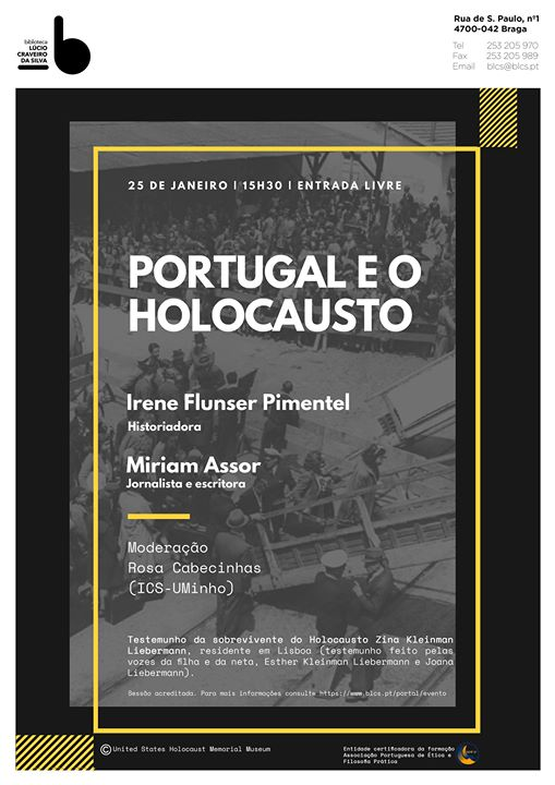 Tertúlia Portugal e o Holocausto
