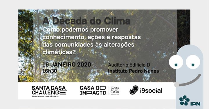 A Década do Clima – Roadshow Santa Casa Challenge | Coimbra