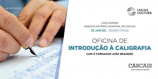 OFICINA DE INTRODUÇÃO À CALIGRAFIA COM O FORMADOR JOÃO BRANDÃO