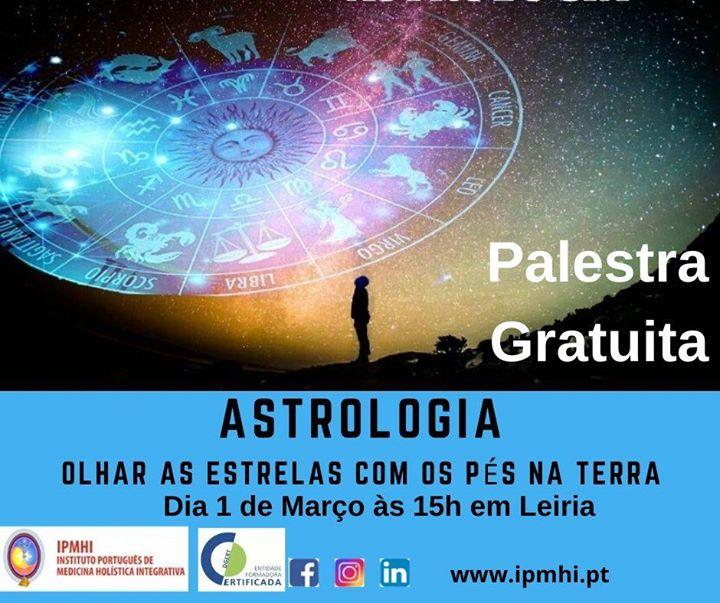 Palestra 'Astrologia - Olhar as estrelas com os pés na Terra'