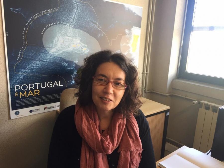 Cristina Pita, do CESAM- Centro de Estudos do Ambiente e do Mar da Universidade de Aveiro