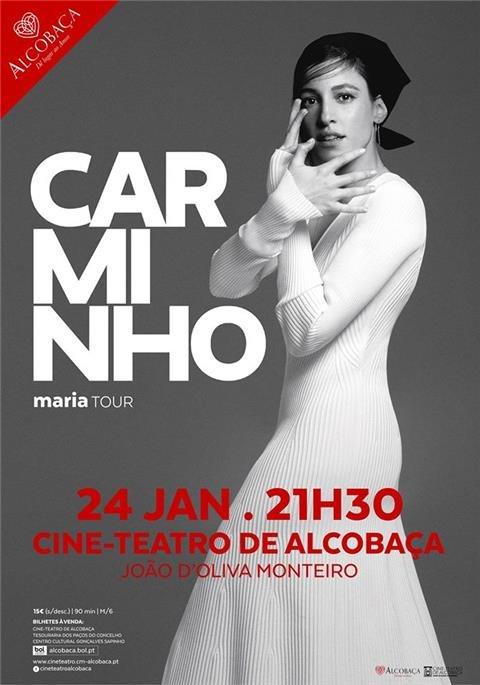 música :: Carminho | Maria Tour | Alcobaça