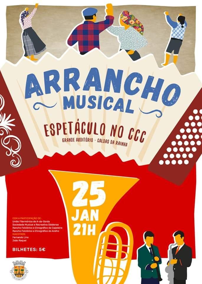 Arrancho Musical   Bandas e Ranchos Folclóricos do Concelho de Óbidos