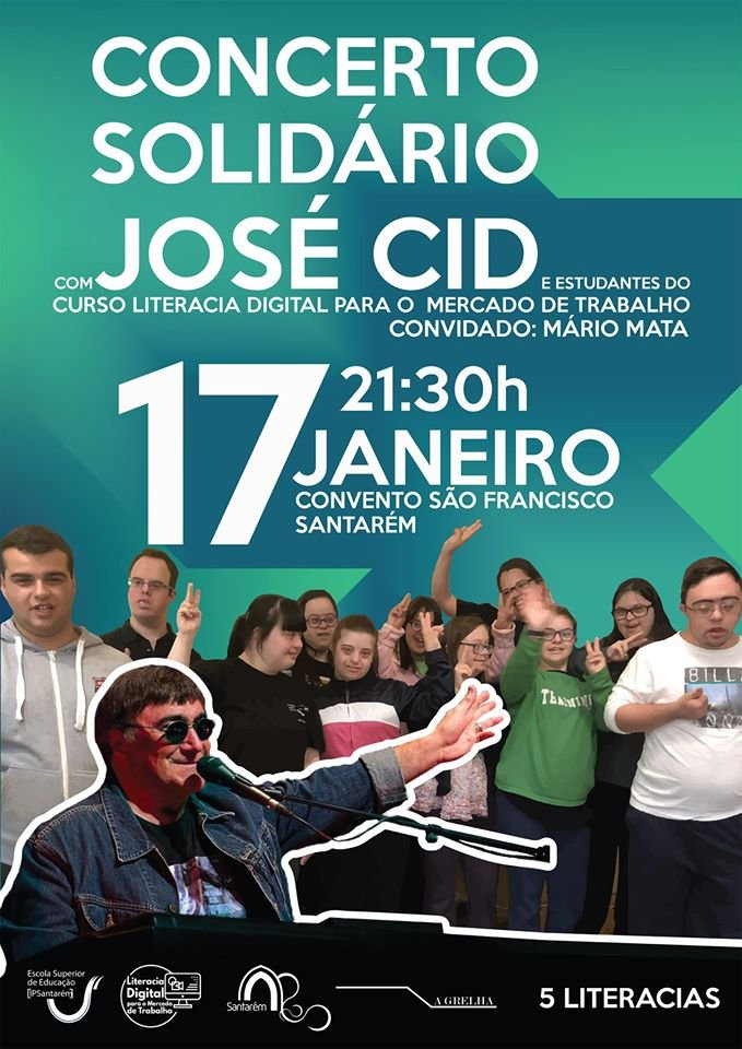 Concerto Solidário com José Cid,