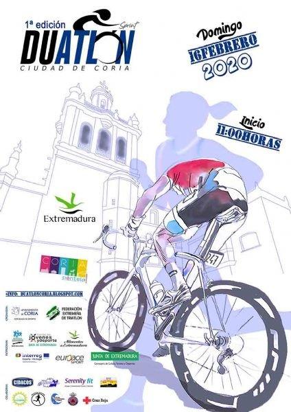 I Duatlón Sprint 'Ciudad de Coria'