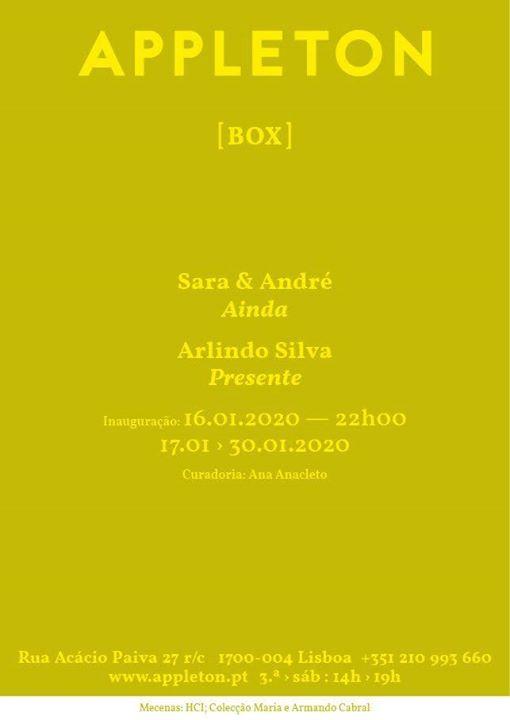 Box: Sara & Andre / Ainda I Arlindo Silva / Presente