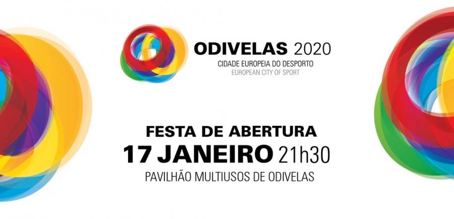 Festa de Abertura - Odivelas, Cidade Europeia do Desporto 2020