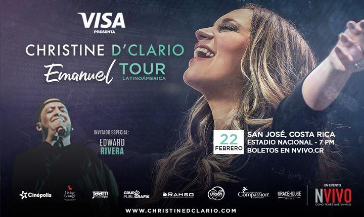 "Costa Rica - Christine D'Clario ""Emanuel"" Tour"